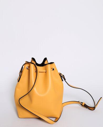 Borsa a sacco giallo