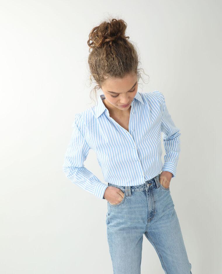 Camicia con spalline bianco