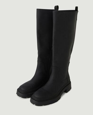 Stivali con suola tacchettata nero - Pimkie