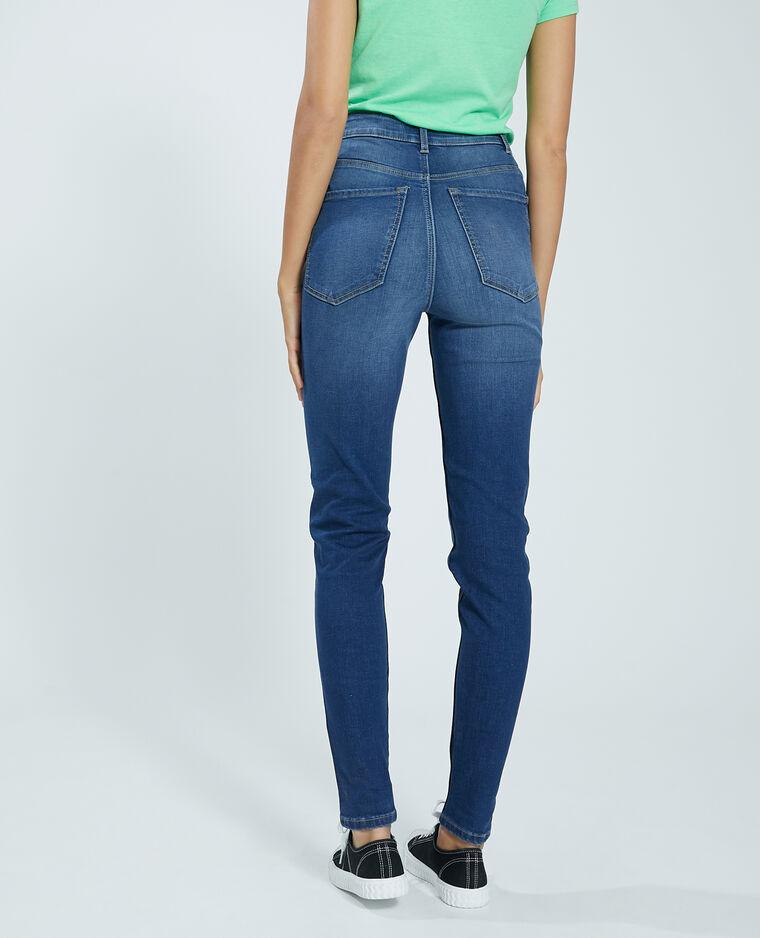 Jeans skinny blu grezzo - Pimkie