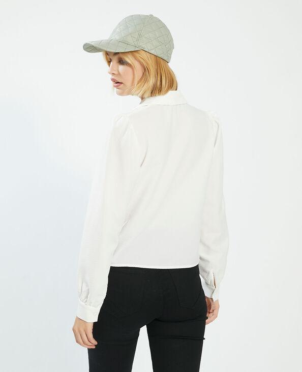 Camicia con motivi in rilievo. bianco sporco - Pimkie