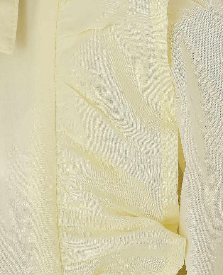 Abito a trapezio giallo pallido - Pimkie