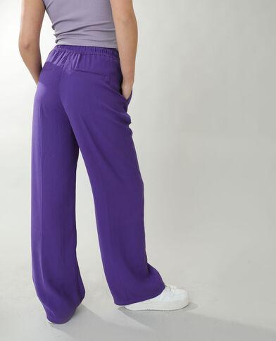 Pantalone largo viola - Pimkie