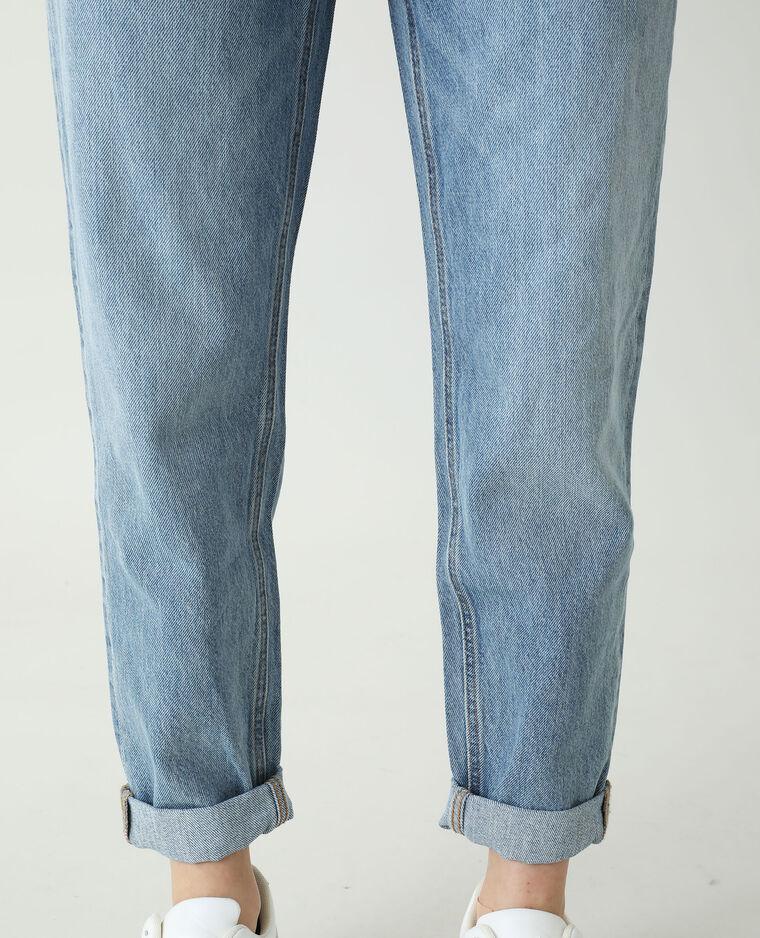 Jeans mom blu denim