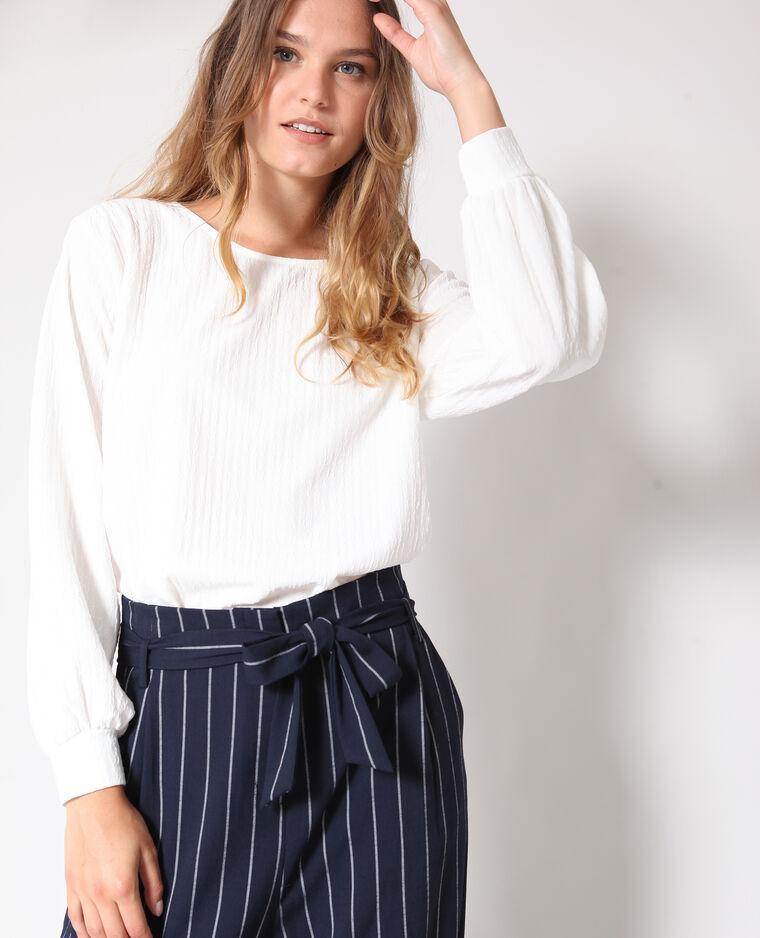 - T-shirt maniche lunghe bianco