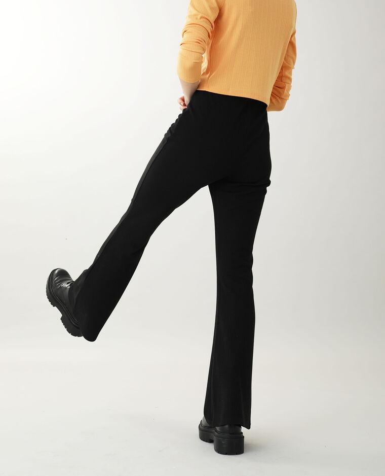Pantalone in maglia nero