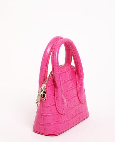 Borsetta rigida rosa