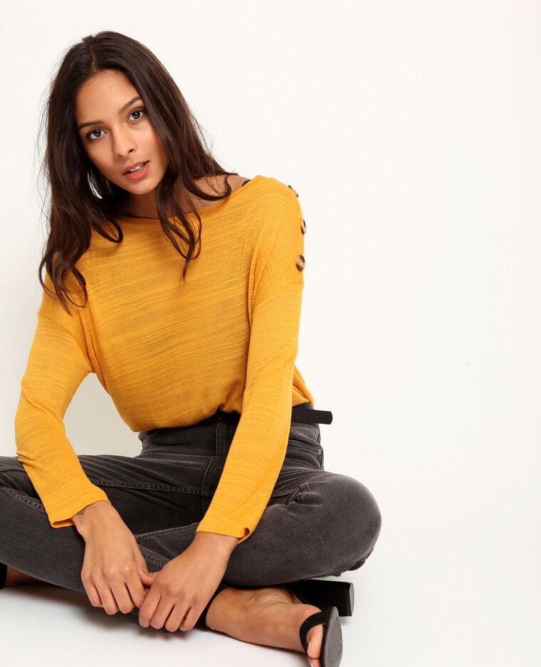- T-shirt maniche lunghe giallo