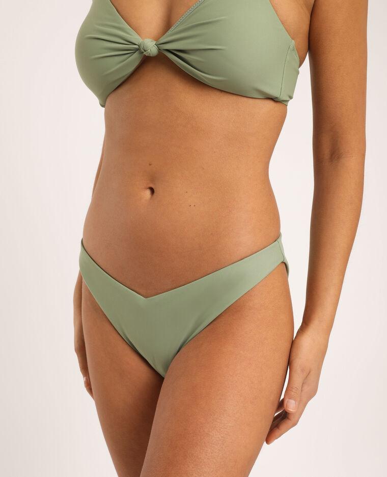 Pezzo sotto di bikini sgambato verde - Pimkie