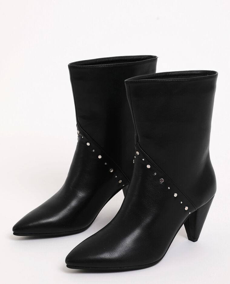 Stivali con borchie nero - Pimkie