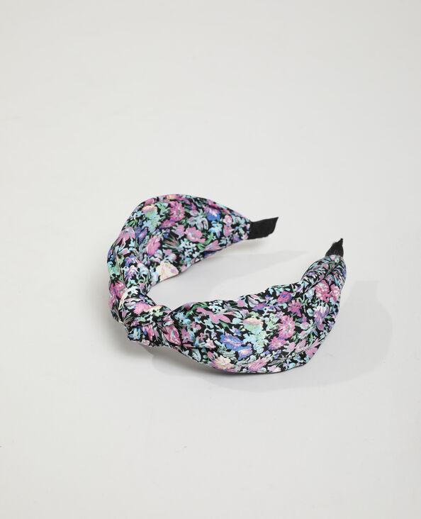 Cerchietto a fiori nero - Pimkie