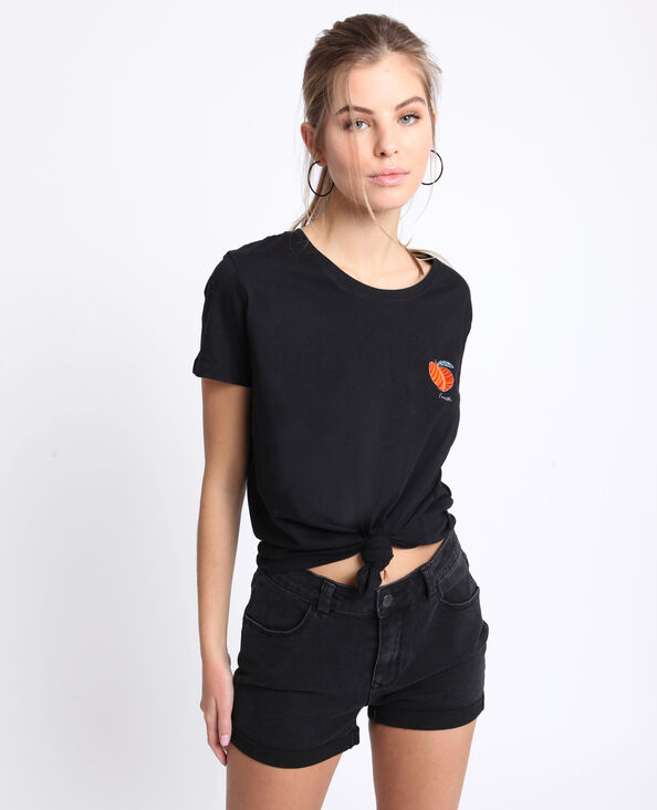 T-shirt fresh nero