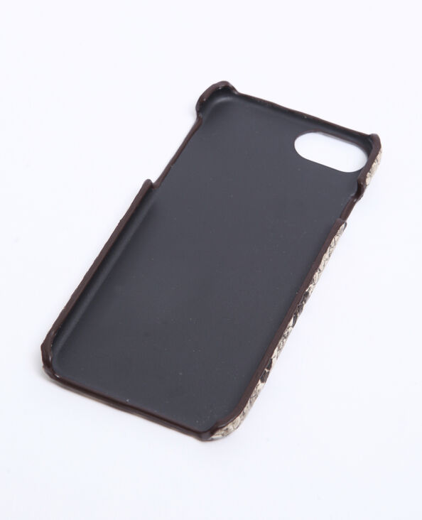 Custodia compatibile iPhone beige