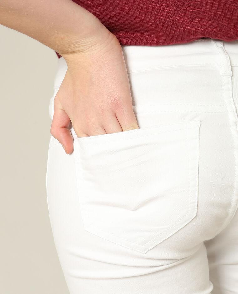 Skinny push up bianco