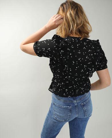 Camicia con stelle nero - Pimkie