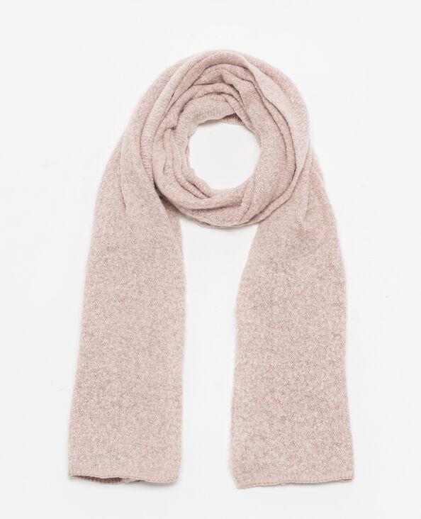 Sciarpa in maglia morbida rosa