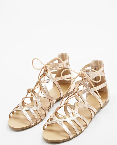 Sandali bassi rosa