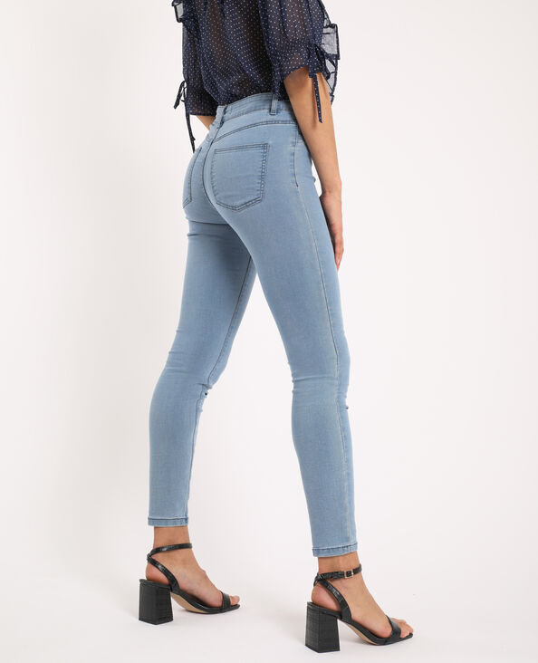 Jegging mid waist blu stone