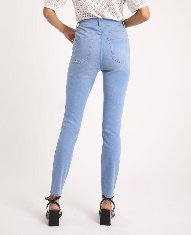 Jeans skinny high waist blu delavato - Pimkie