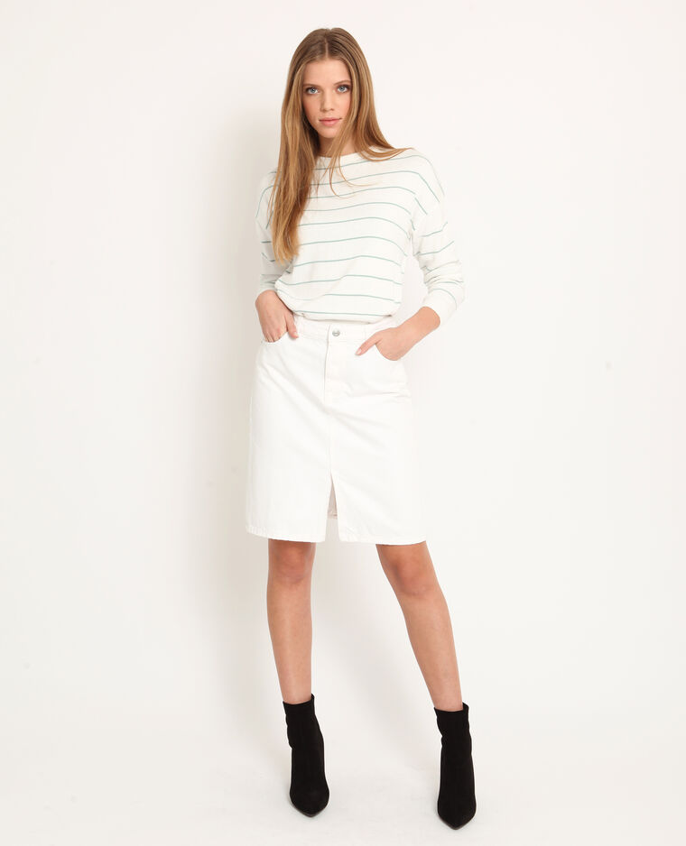Pull leggero bianco