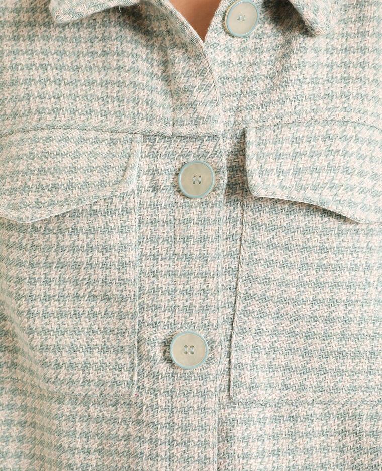 Giacca camicia verde