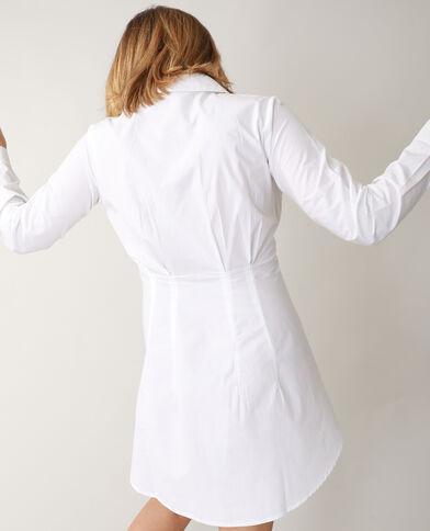 Camicia lunga attillata écru - Pimkie