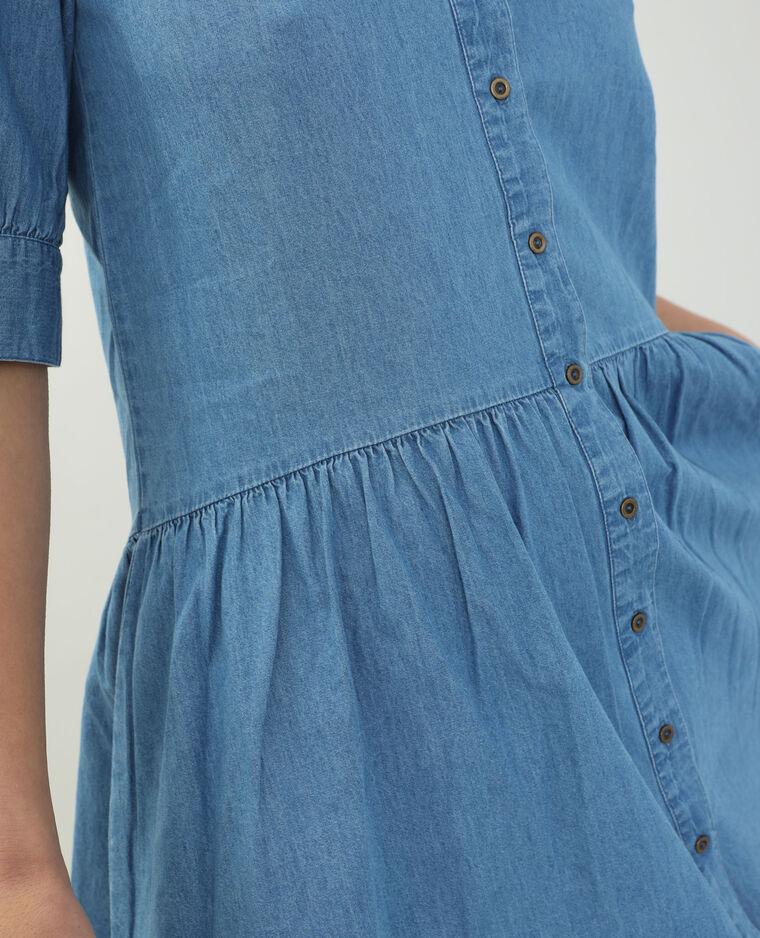 Abito di jeans blu delavato - Pimkie