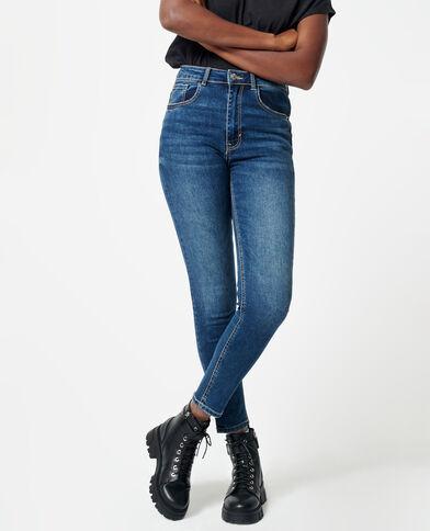 Jeans push up high waist blu denim - Pimkie
