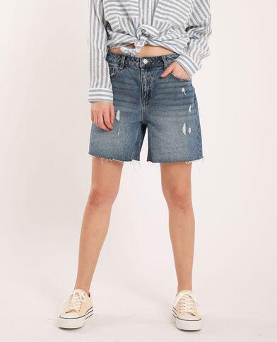 Bermuda di jeans blu denim - Pimkie