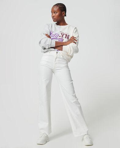 Jeans dritto écru - Pimkie