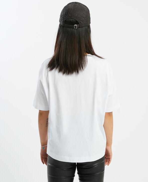 T-shirt oversize stampa pantera bianco - Pimkie