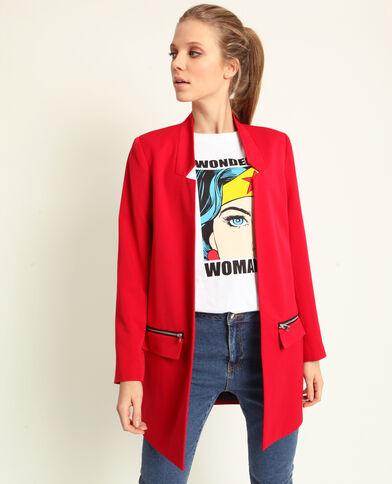 Cappotto leggero rosso 999c62c7300