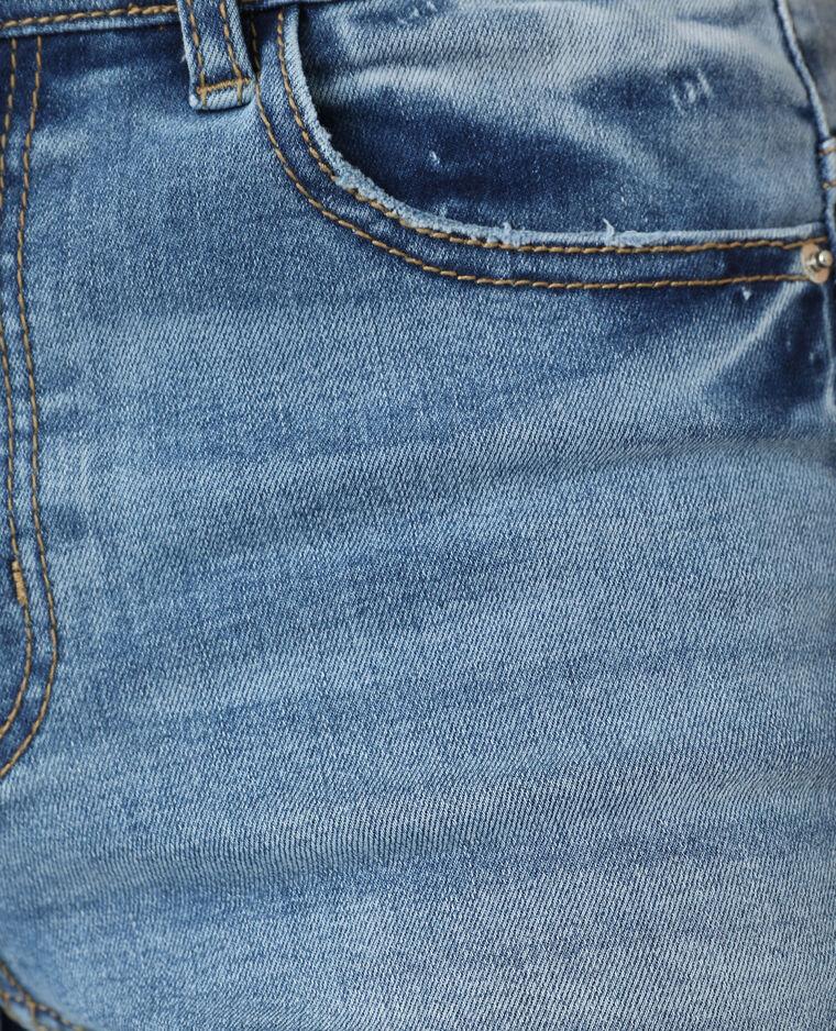 Jeans skinny push up mid waist blu denim - Pimkie