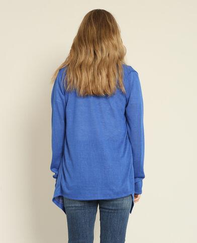 Cardigan sottile blu