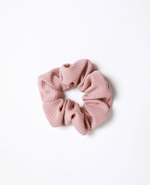 Elastico con texture rosa cipria