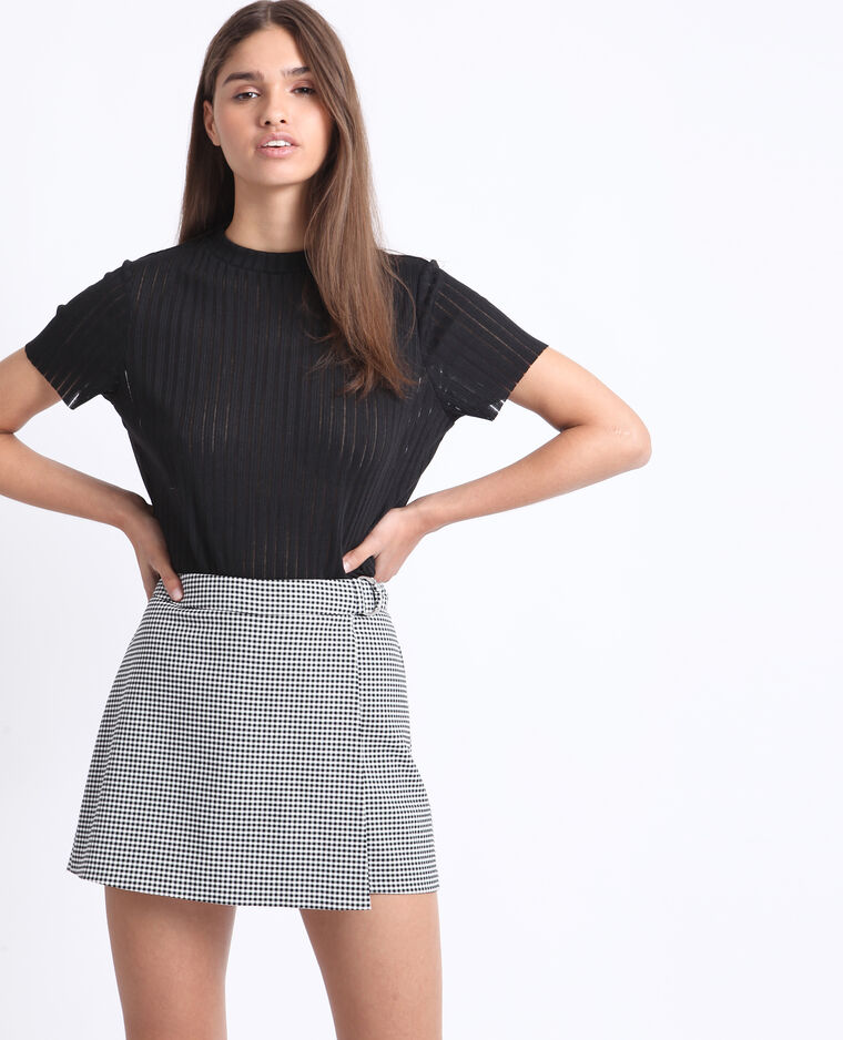 T-shirt sottile nero