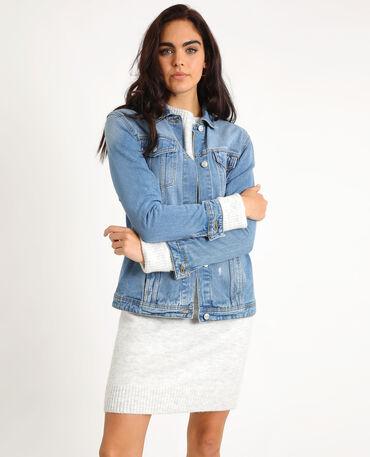 elegante nello stile migliori scarpe da ginnastica i più votati più recenti Giacca jeans donna   Pimkie