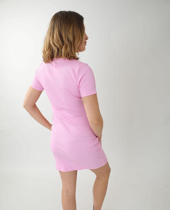Abito t-shirt lungo rosa - Pimkie