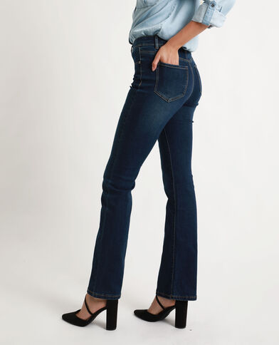 Jeans bootcut blu grezzo
