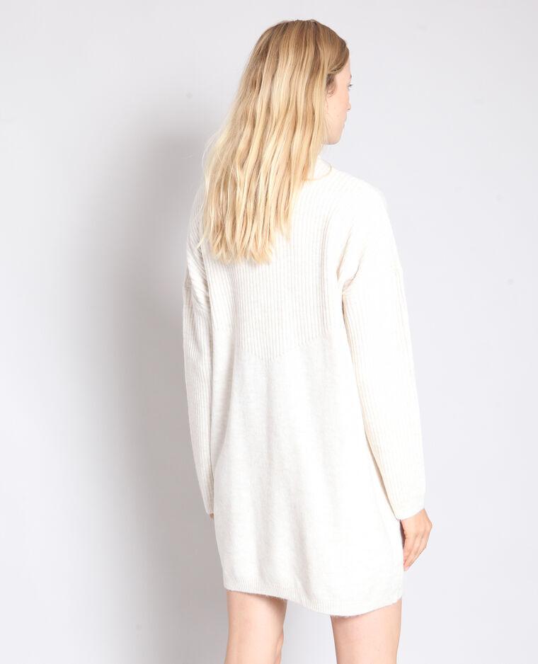 Abito pull bianco sporco