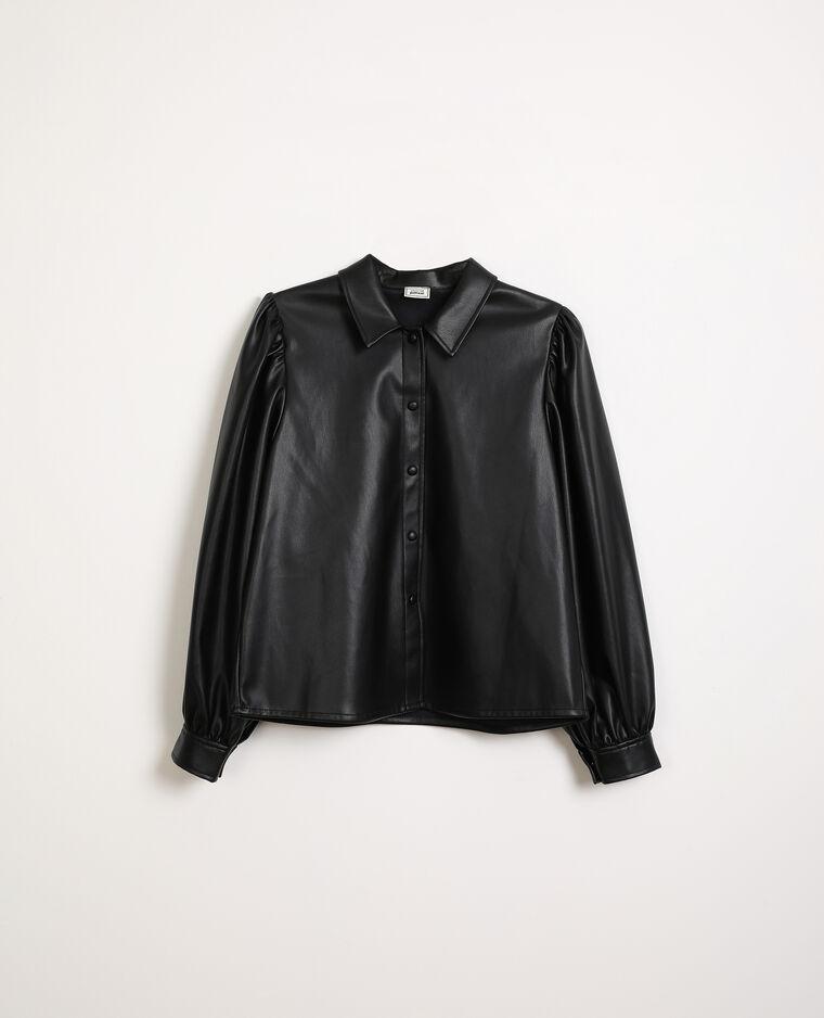 Camicia in similpelle nero - Pimkie