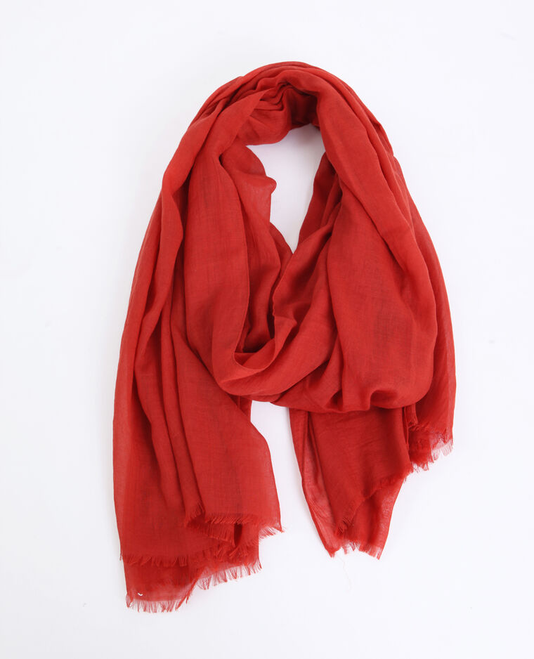 Foulard leggero rosso