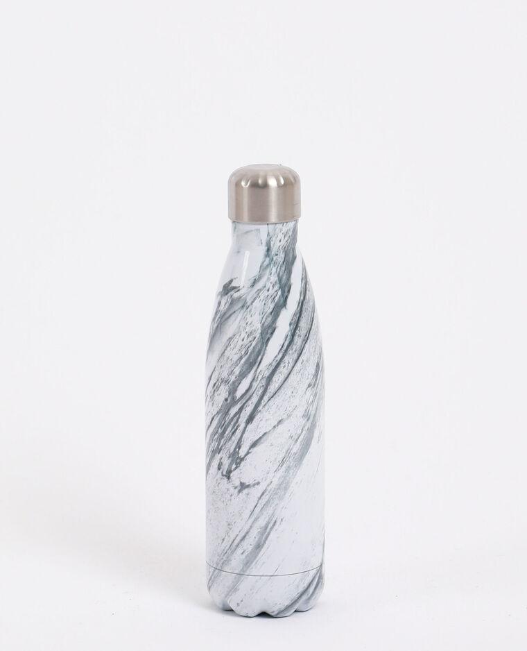 Borraccia in alluminio bianco