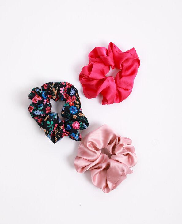 Lotto da 3 elastici rosa fucsia