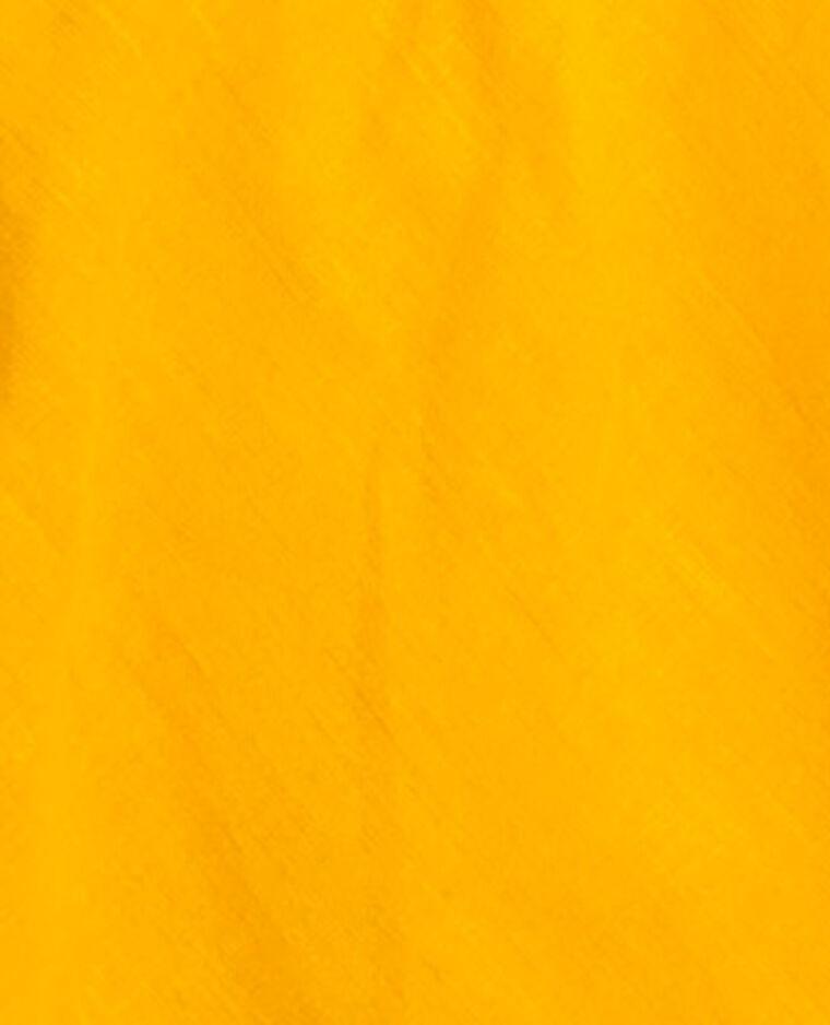 Abito con volant giallo