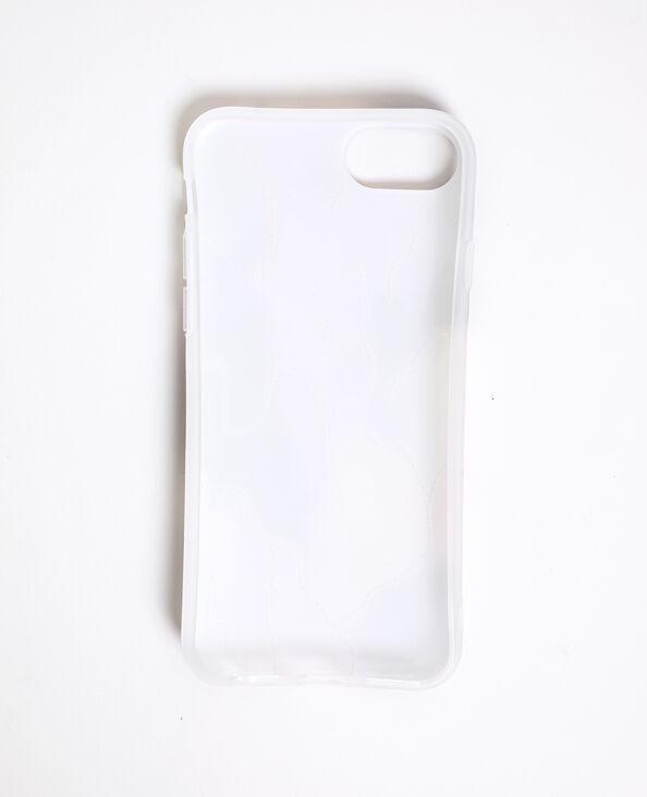 Custodia multicolore compatibile con iPhone nero