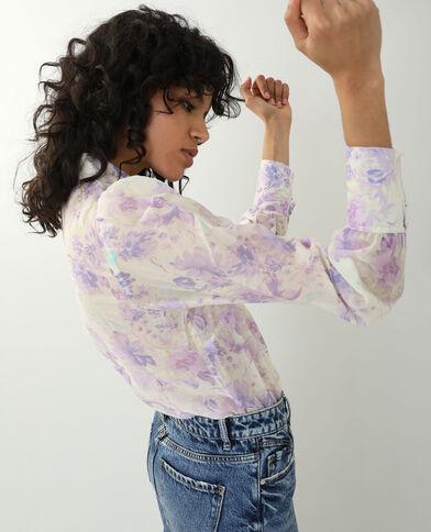 Camicia a fiori bianco - Pimkie