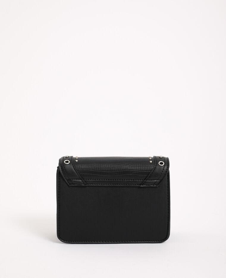 Borsetta con borchie nero