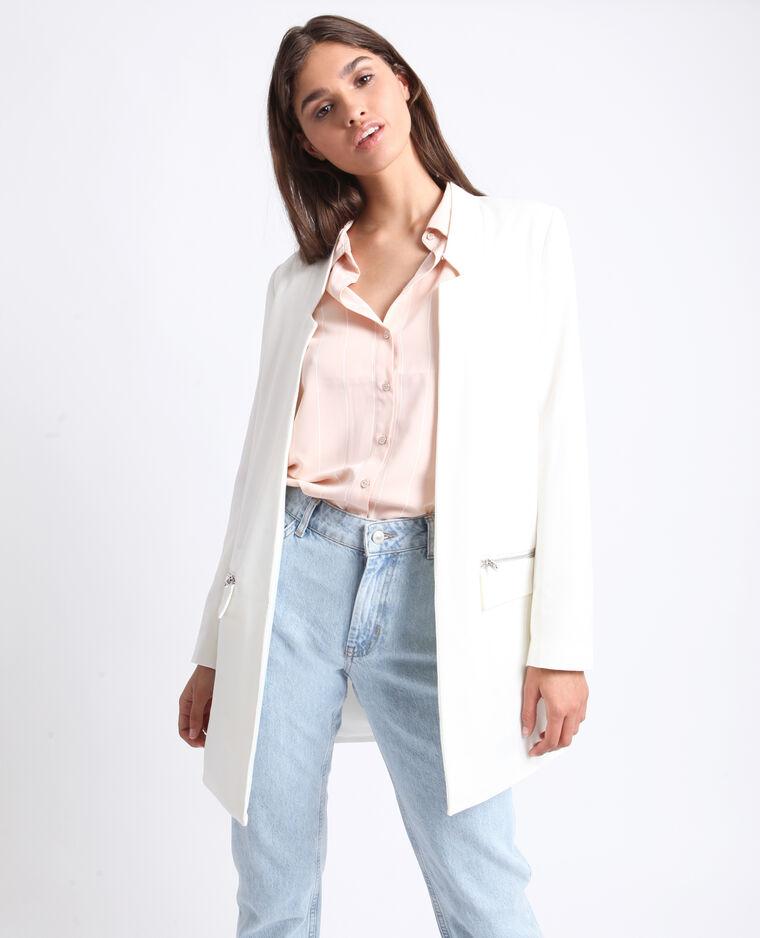 Cappotto leggero bianco