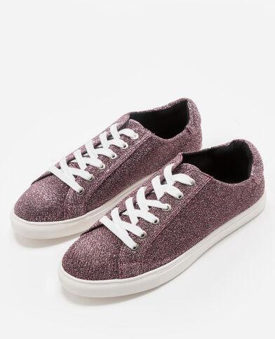 Scarpe da basket glitter rosa